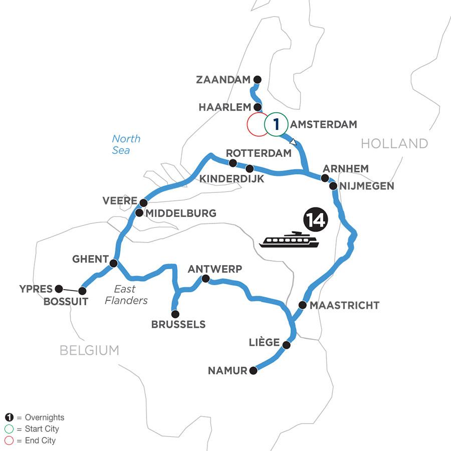 WHHQ 2021 Map