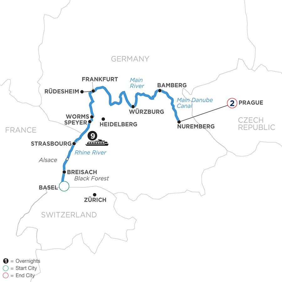 WMNE 2021 Map