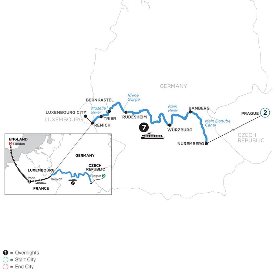 WNR2 2021 Map