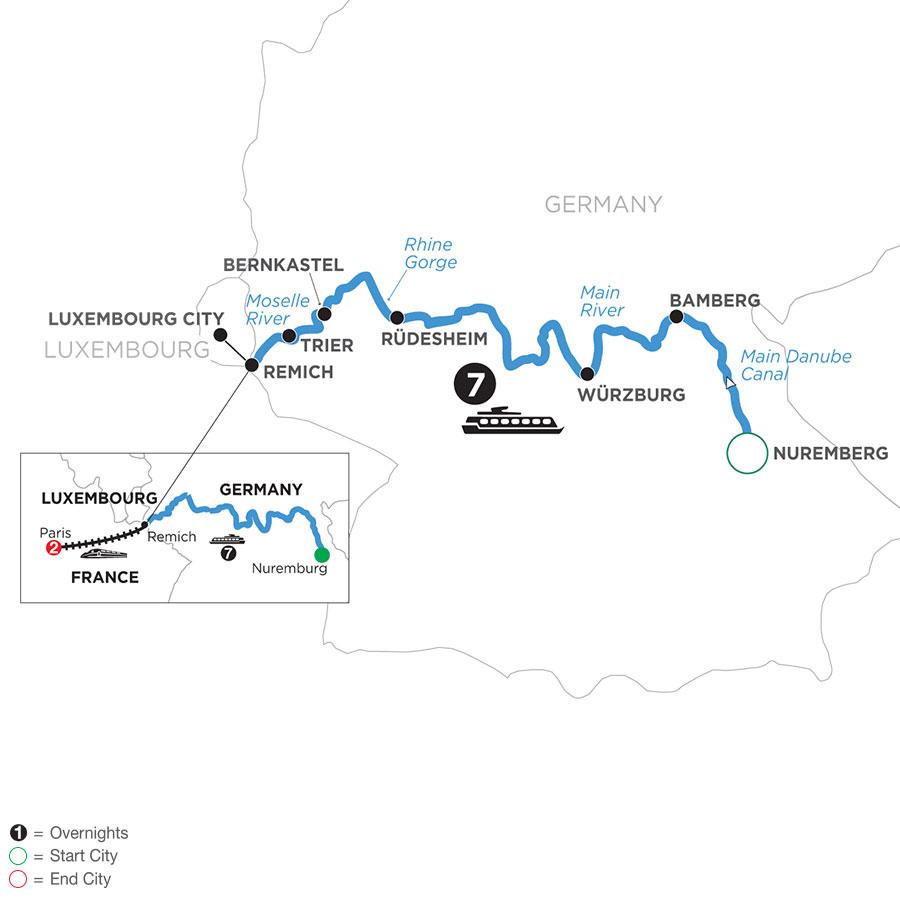 WNR3-T1 2021 Map