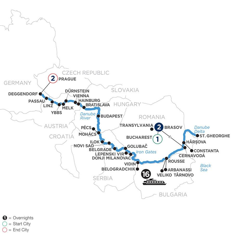 WODE 2021 Map