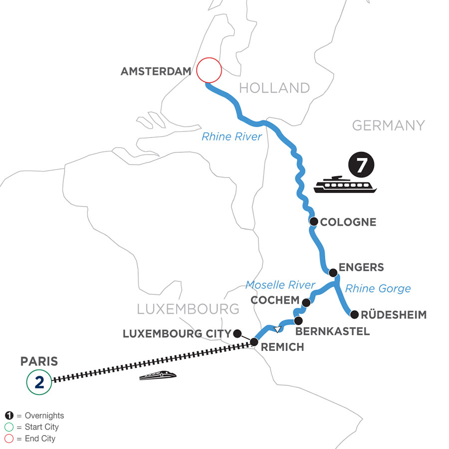 WRAQ 2021 Map