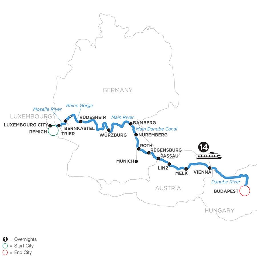 WRB 2021 Map