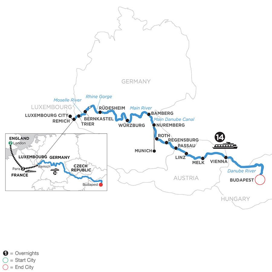 WRB2 2021 Map