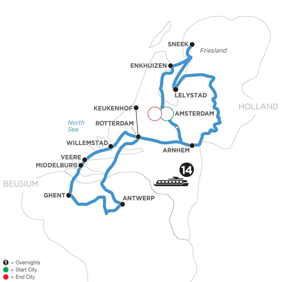 WAH 2022 Map
