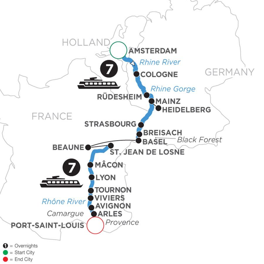 WAL 2022 Map
