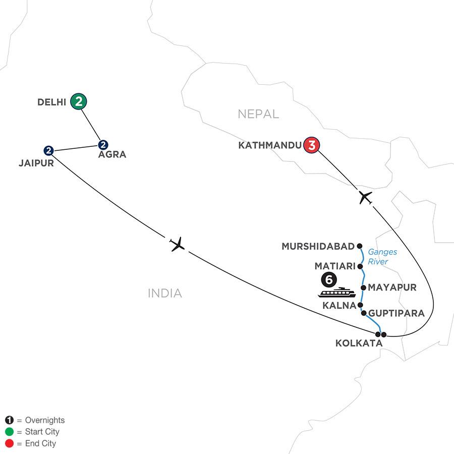 WDKE 2022 Map