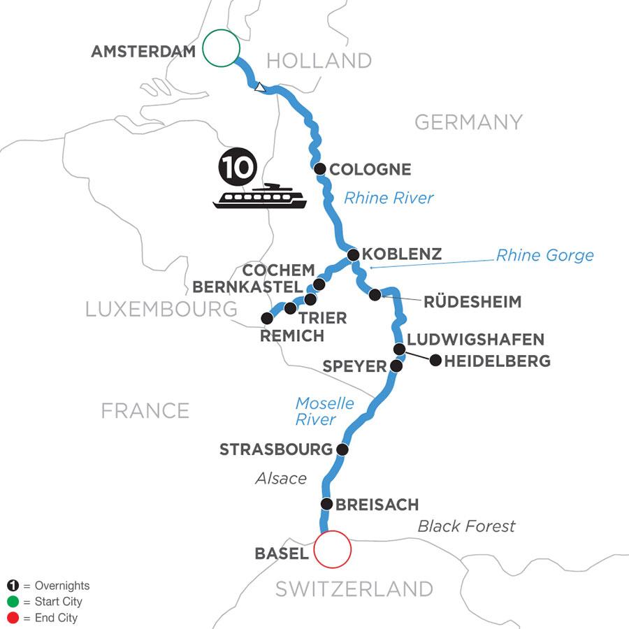 WHZ 2022 Map