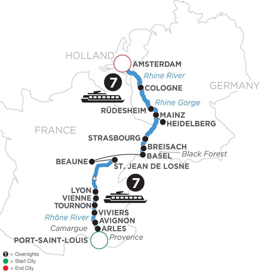 WLA 2022 Map