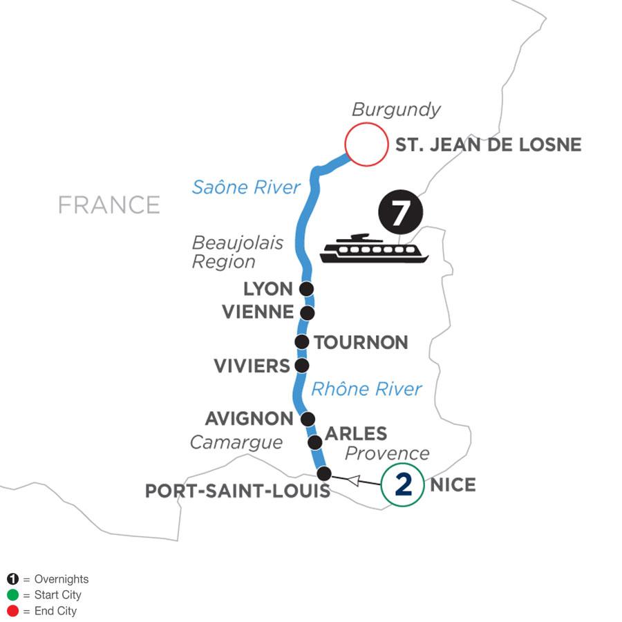 WLJQ 2022 Map