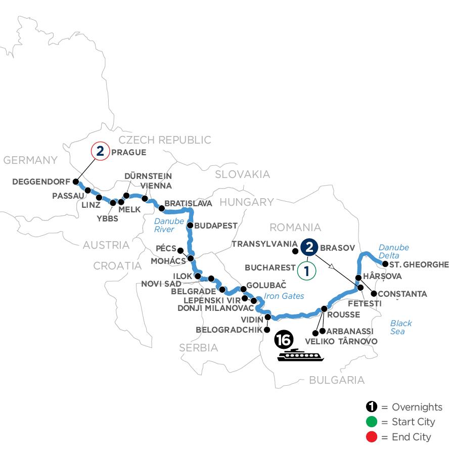 WODE-T1 2022 Map