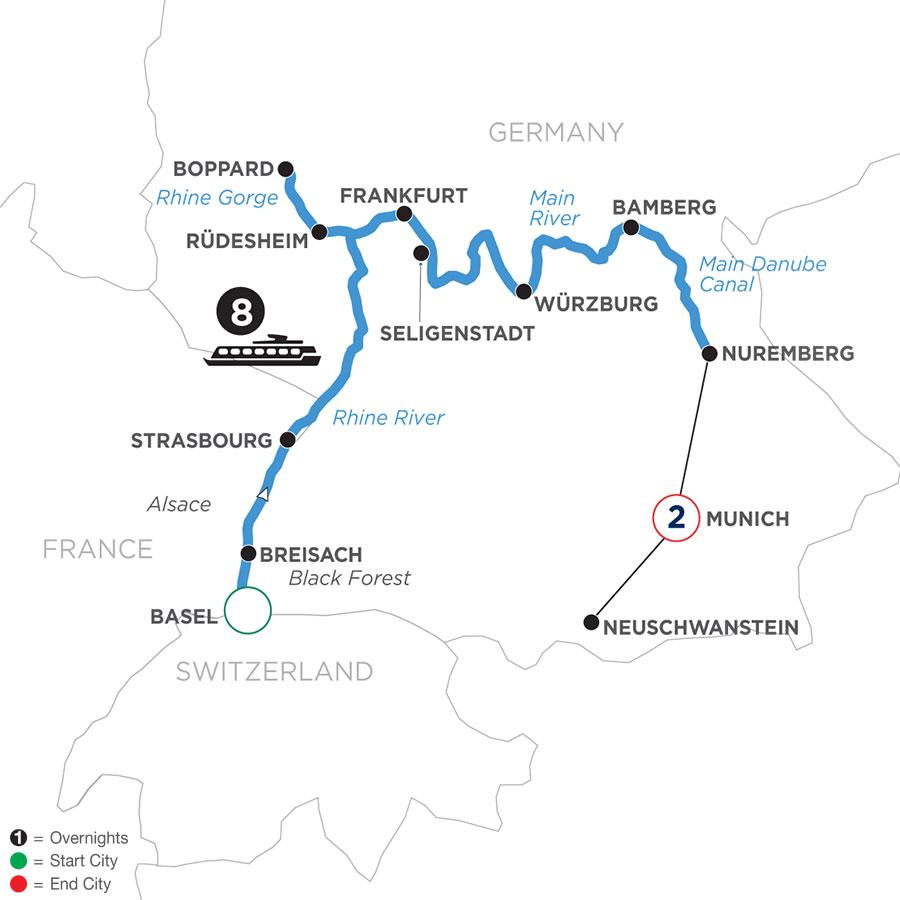 WZNE 2022 Map