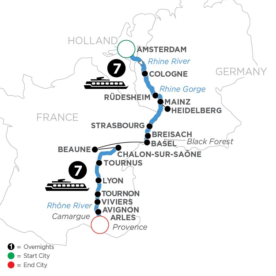 WAL 2023 Map