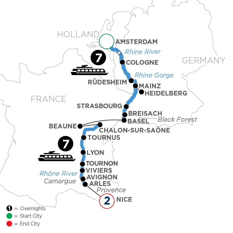 WALE 2023 Map
