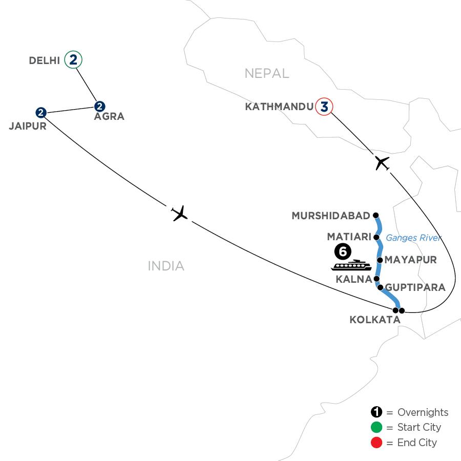 WDKE 2023 Map
