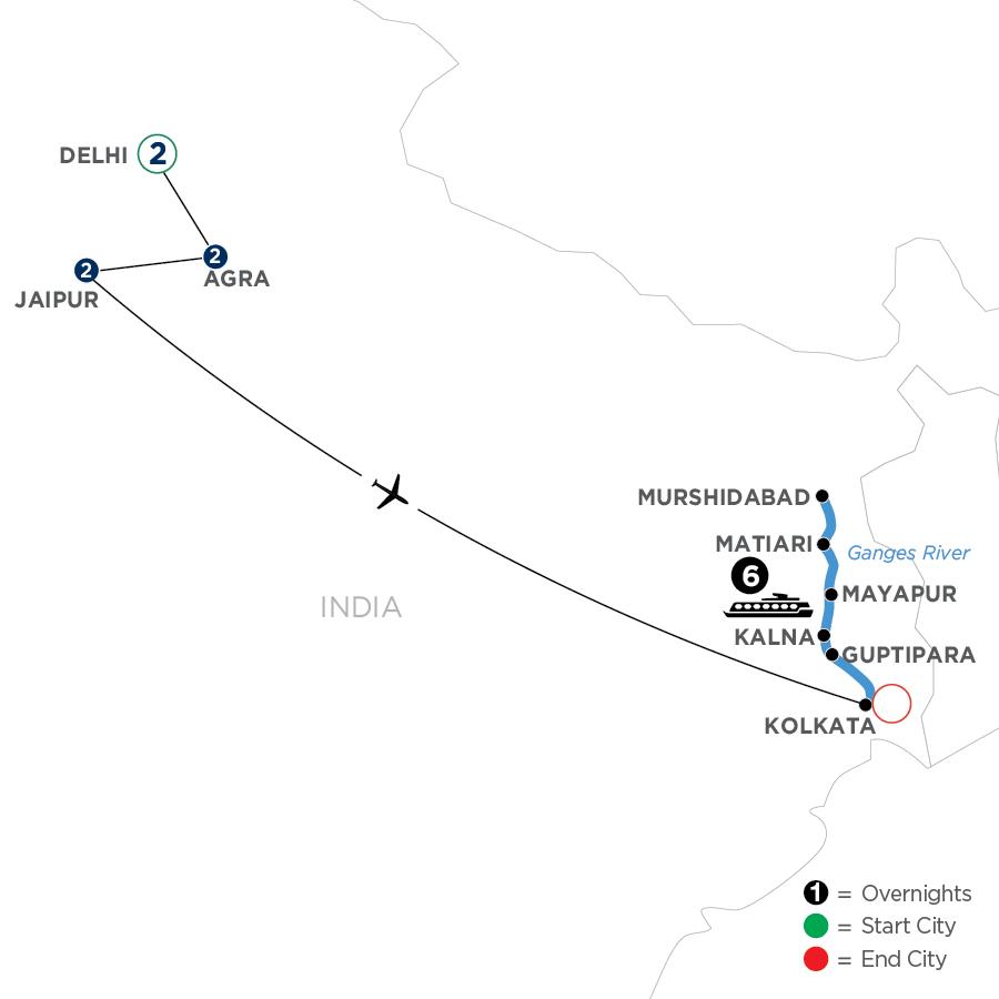 WDKI 2023 Map