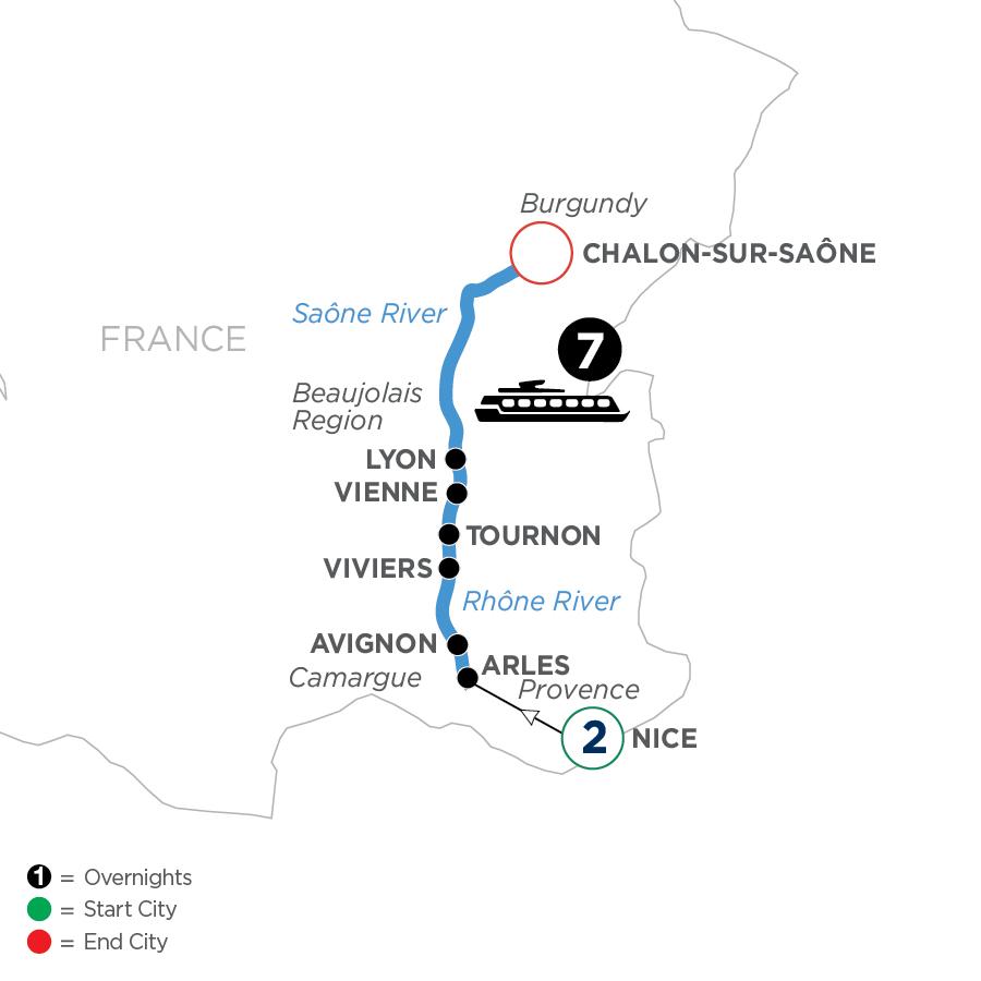 WLJQ 2023 Map