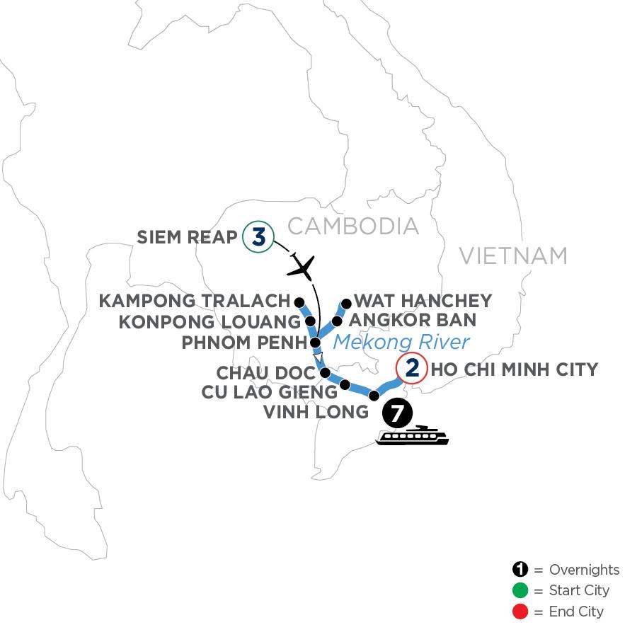 WSHI 2023 Map