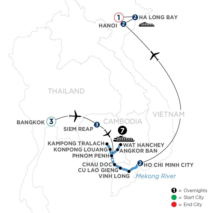 WSIB 2023 Map
