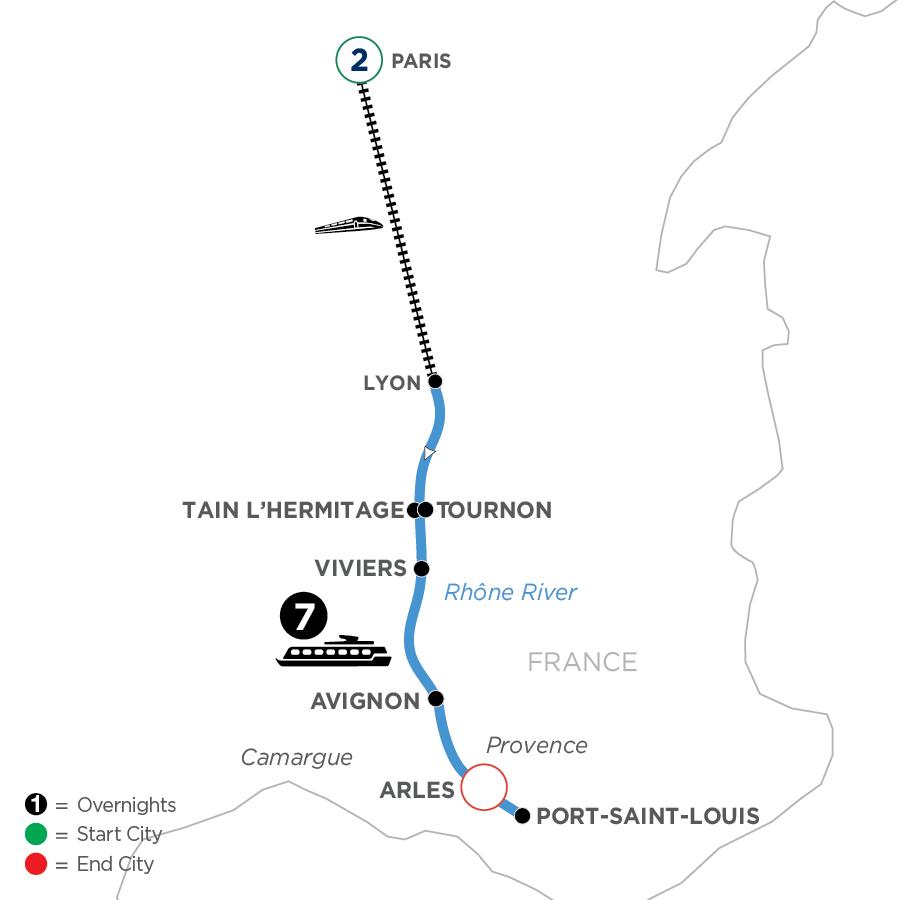 WYLQ 2023 Map