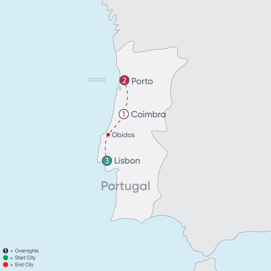 Portugal Explorer map