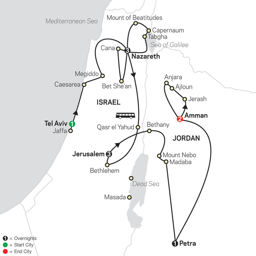 Holy Land Discovery - Faith-Based Travel - Catholic Itinerary