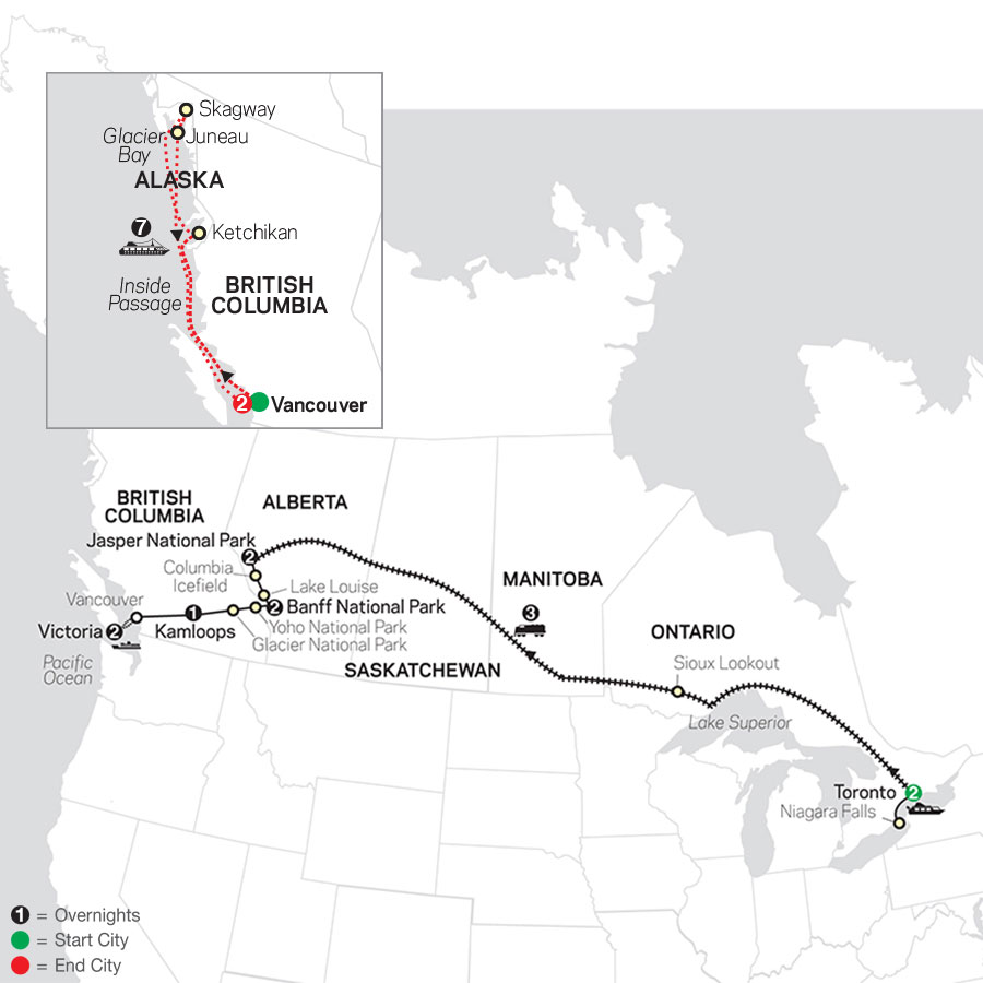Canadian Train Odyssey