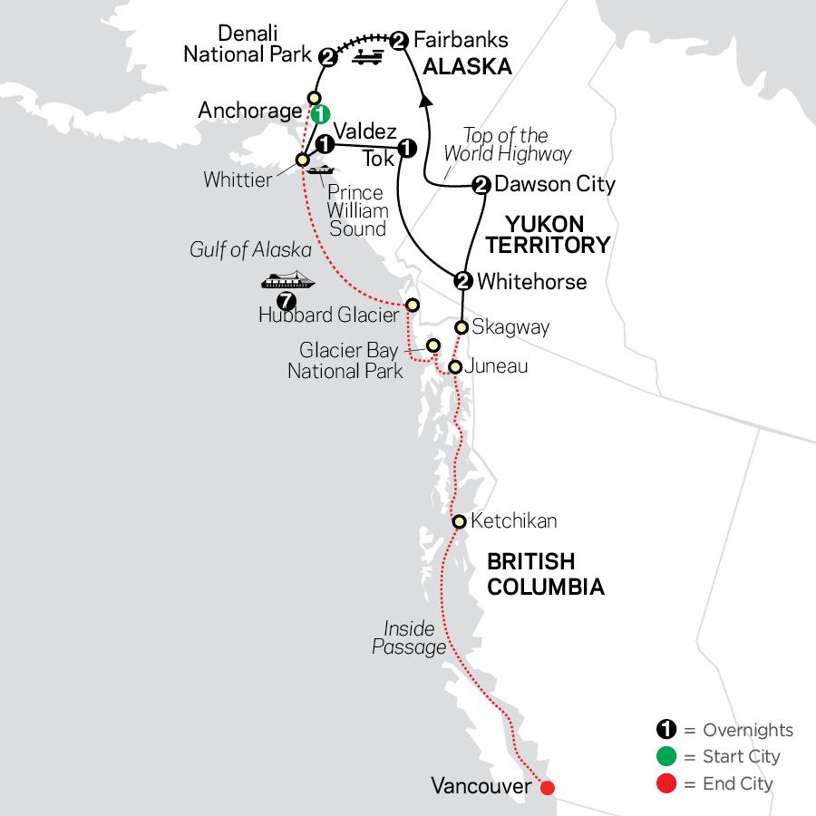 Alaska & the Yukon