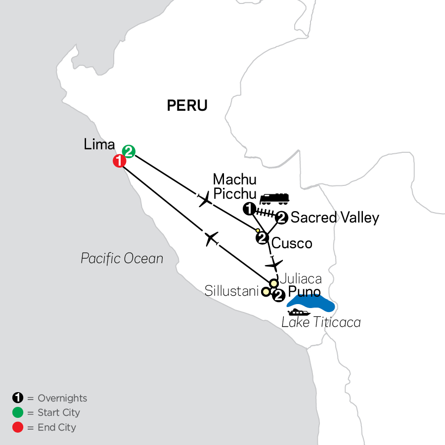Mysteries of the Inca Empire map