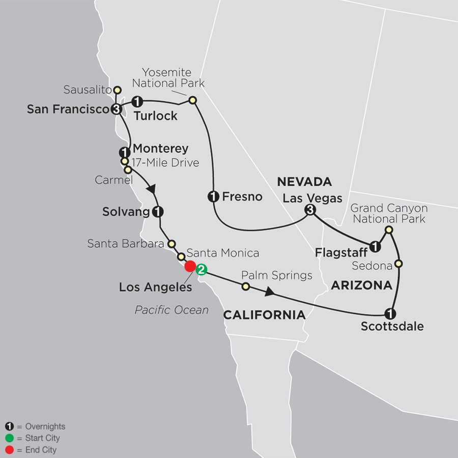 Golden West Adventure map