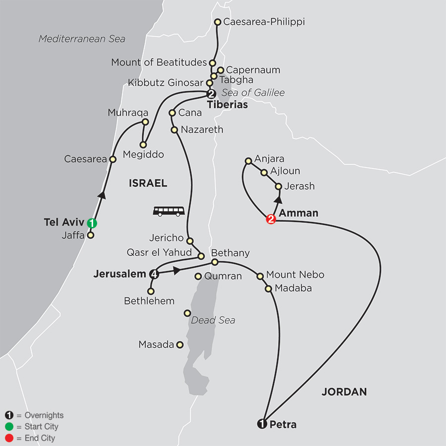 Biblical Tour Of Israel With Jordan Cosmos Faith Tours - Map of old testament israel