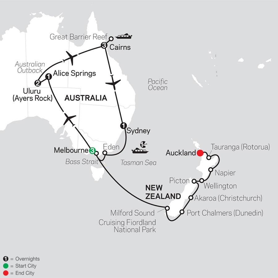 Tour Code 3359 2020 map