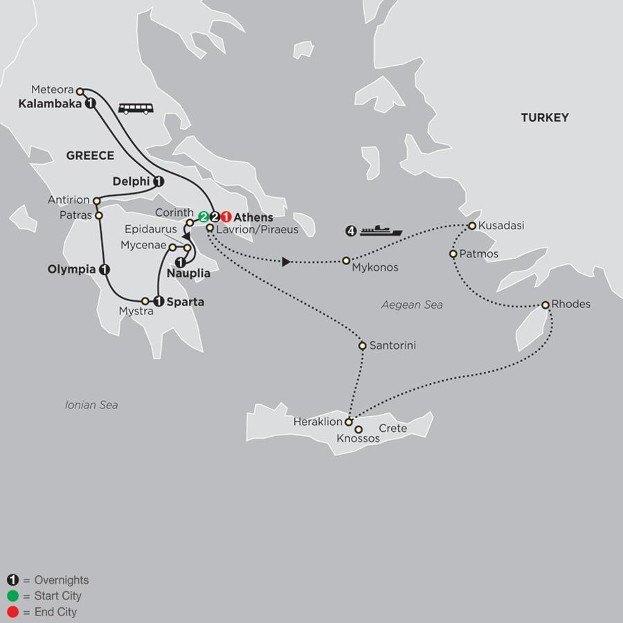 Greece & Aegean Islands Cruise
