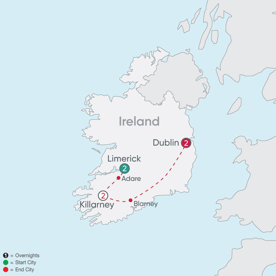 Ireland Explorer map