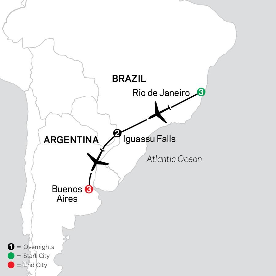 1000 2023 Map