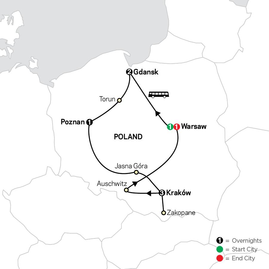 6080 2023 Map
