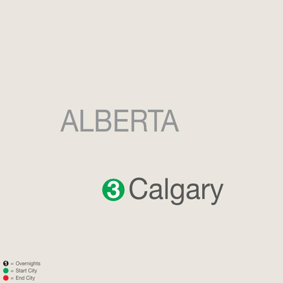 Calgary Stampede map