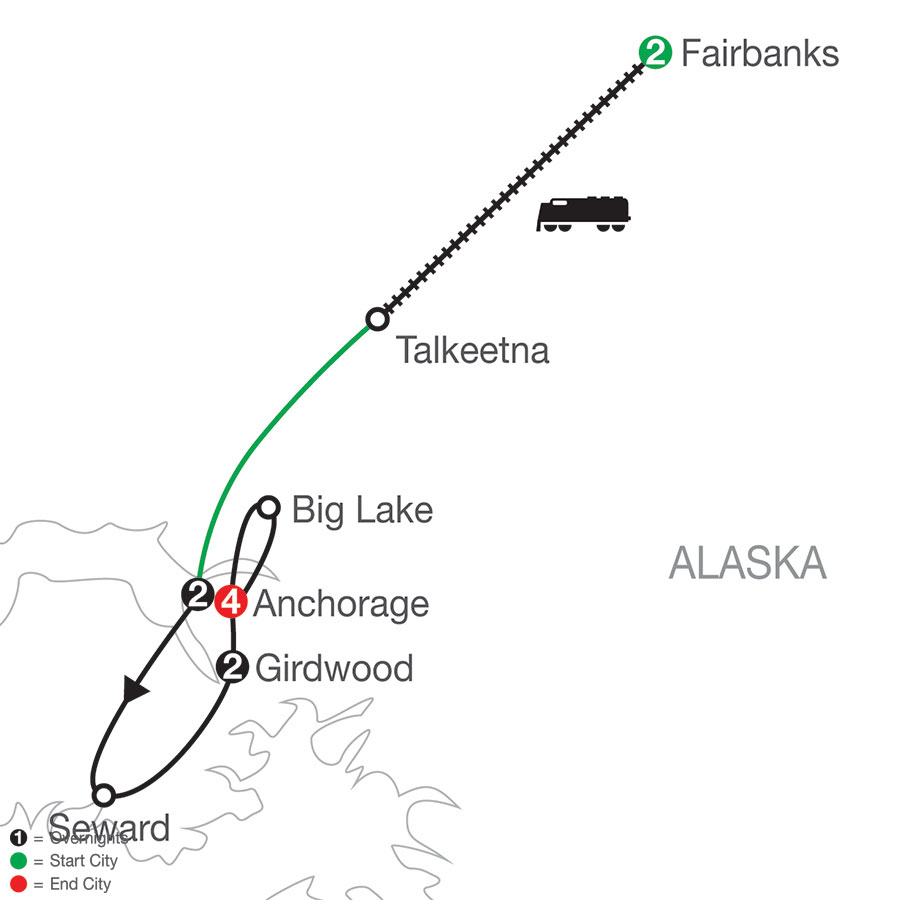 Alaska's Iditarod with Fairbanks