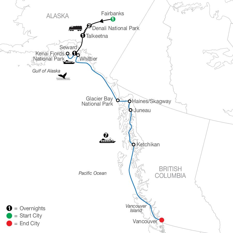 Nature's Best: Alaska with Alaska Cruise