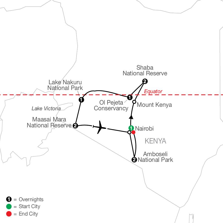 Kenya: A Classic Safari with Amboseli