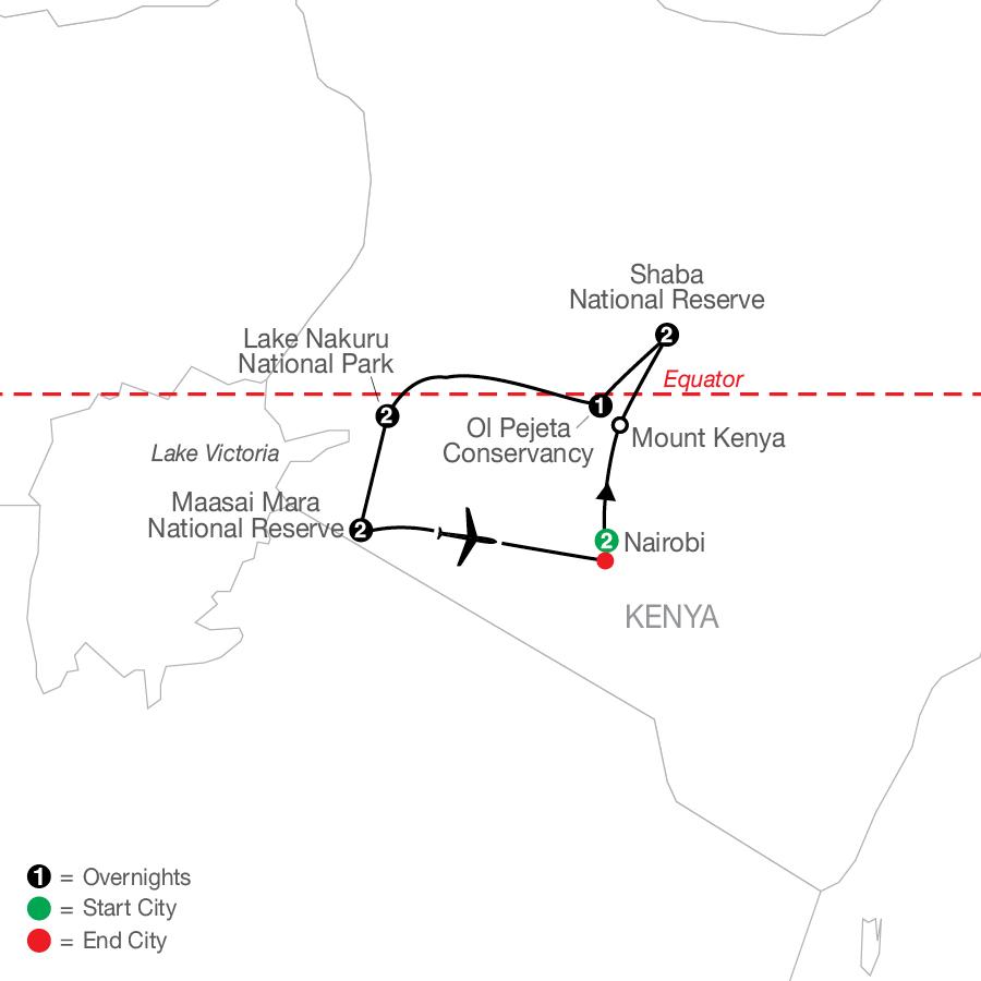 Kenya: A Classic Safari with Nairobi