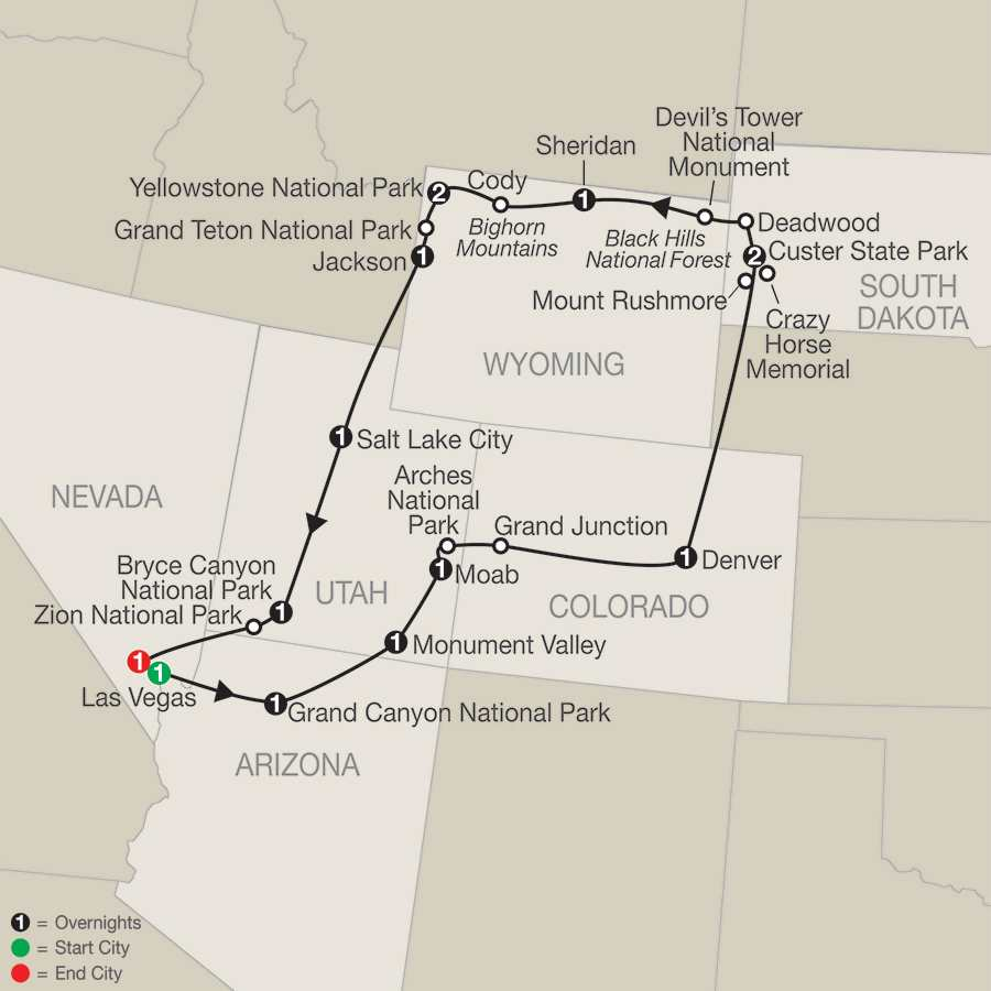 National Parks In Utah Map 2 train map