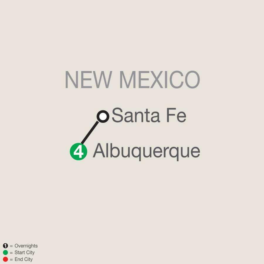 Albuquerque Balloon Fiesta map