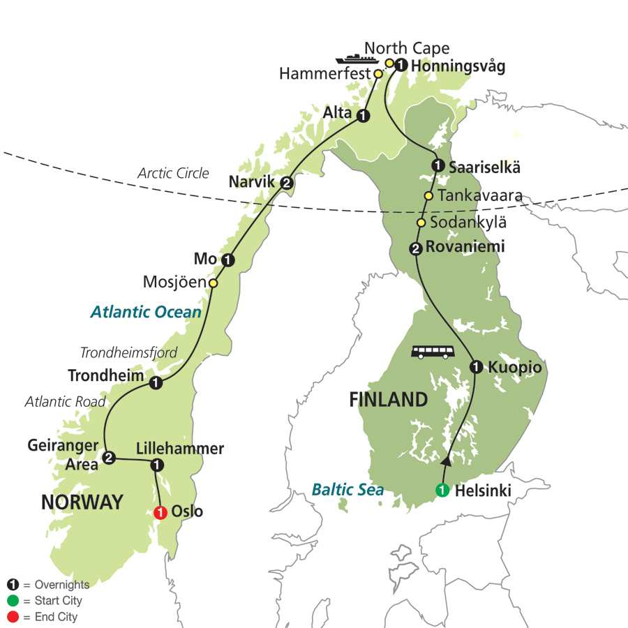 Vacation overview is an awe inspiring exploration of europes nordic countries and the perfectly affordable vacation to finland and norway for value minded travelers gumiabroncs Choice Image