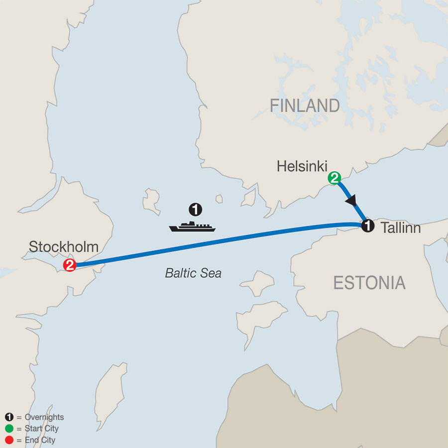 Scandinavian Escape map
