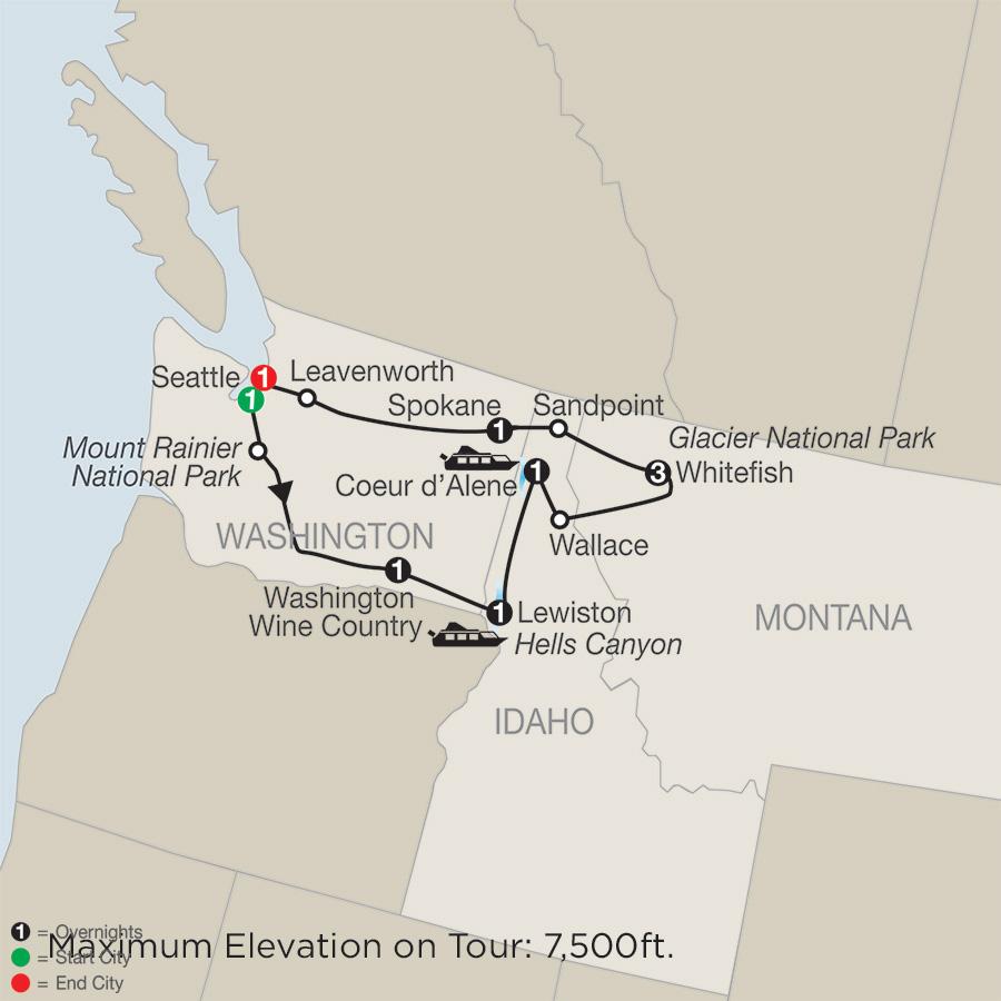 Glacier National Park Tour Globus Tours