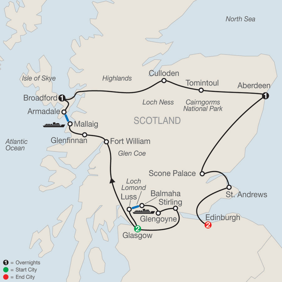 Scotland Tour   Globus® Scottish Tour Packages