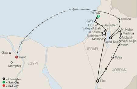 Tour Code TU 2021 map