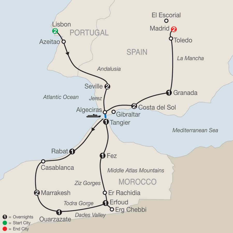Spain Tour Portugal Tour Morocco Tour Globus Tours