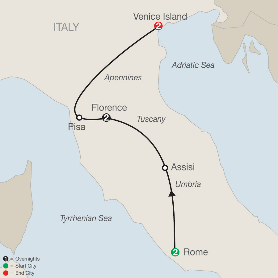 Italian Escape map